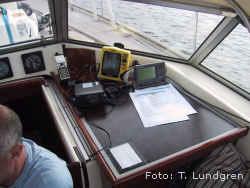 Foto på navigationsinstrument. Foto: Thomas Lundgren.