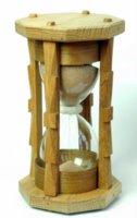 Timglas, utmärkelse för 24-timmarsseglare som seglat mer än 10.000M. Foto: Anneli Ekholm.
