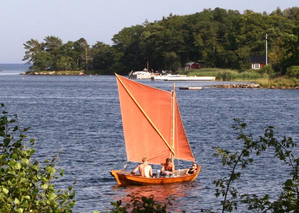 Blekingeeka i Karlshamns skärgård. Foto: Entheta CC (BY-SA).