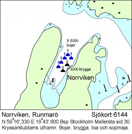 Norrviken på Runmarö-Storön.