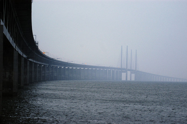 Öresundsbron. Foto: Johannes Jansson CC-BY.