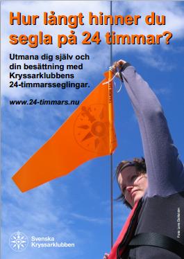 Affisch för 24-timmarsseglingarna