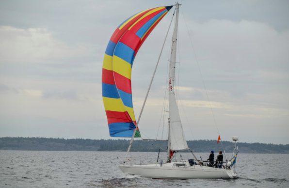 Scampi SWE 379 Anja med skeppare Niclas Fröjel. Foto: Stefan Pettersson.